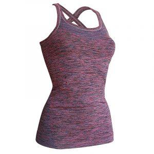 Kidneykaren Yoga Top L Rosa/Petrol