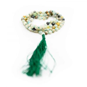 Edelstein Mala Amazonit - 108 Perlen