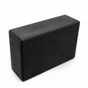 Spiru Yoga Block EVA-Schaumstoff Schwarz Rechteckig - 22 x 15 x 7,5 cm