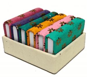 Notebooks Set von 6 in handgemachtem Schaukasten - 5×7 cm - (6er Set)