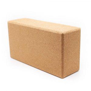 Spiru Yoga Block Kork rechteckig - 23 x 12 x 7,5 cm